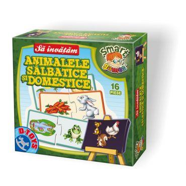 """Să Învățăm """"Animale Sălbatice și Domestice"""""""