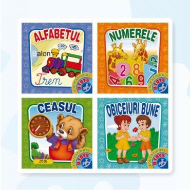 """Set 4 Cărți Pliante """"Educațional"""""""