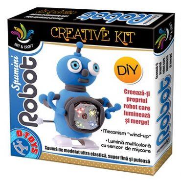 Spumini Robot - Albastru