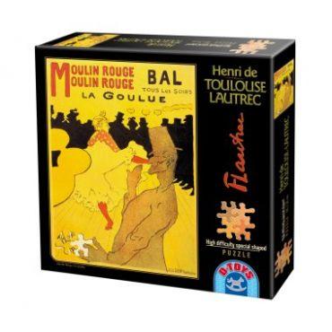 Puzzle Special - Henri de Toulouse-Lautrec - Moulin Rouge - La Goulue - 515 Piese